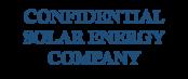 Confidential solar energy company logo