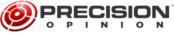 Precision opinion logo