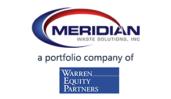 Meridian Waste - Warren Equity logos