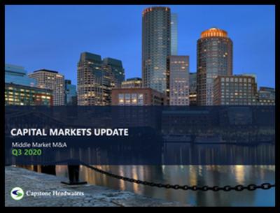 Capital Markets Update Q3 2020