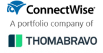 Connectwise and thoma bravo logo