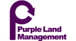 Purple land management logo