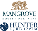 Mangrove and hunter logos