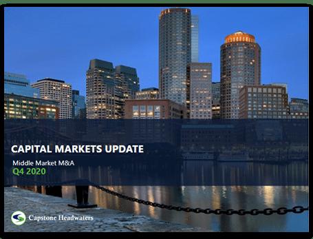 Capstone Capital Markets Update - March 2021