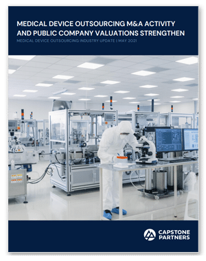 Medical Device Outsourcing May 2021 Image