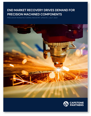 Precision Manufacturing July 2021 Report
